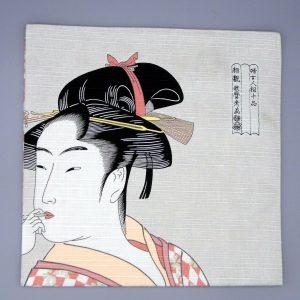 Furoshiki tradizionale giapponese Ukiyo
