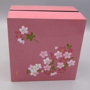 Scatola Bento Cherry Blossom quadrata